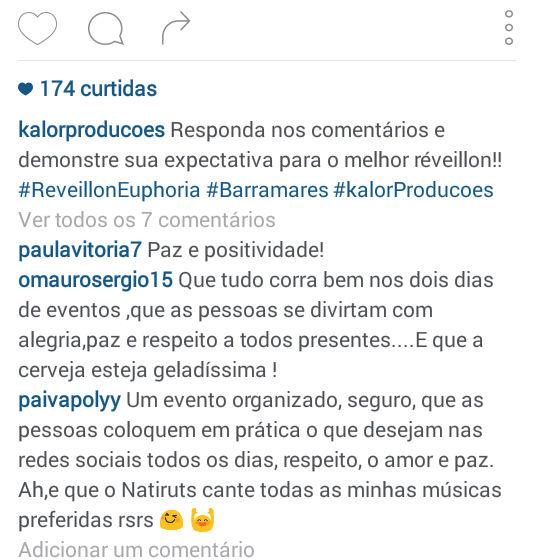 Reveillon Euphoria (Crédito: Reprodução Instagram)
