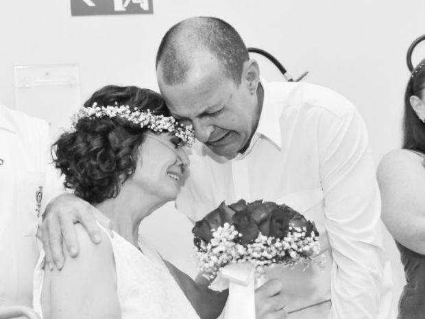 Fernanda morreu antes de ver as fotos do casamento (Crédito: Marcelo Motozono)