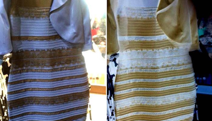 Qual a cor do vestido (Crédito: Reprodução)