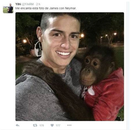 Perfil no twitter posta foto racista (Crédito: Reprodução / Racista)