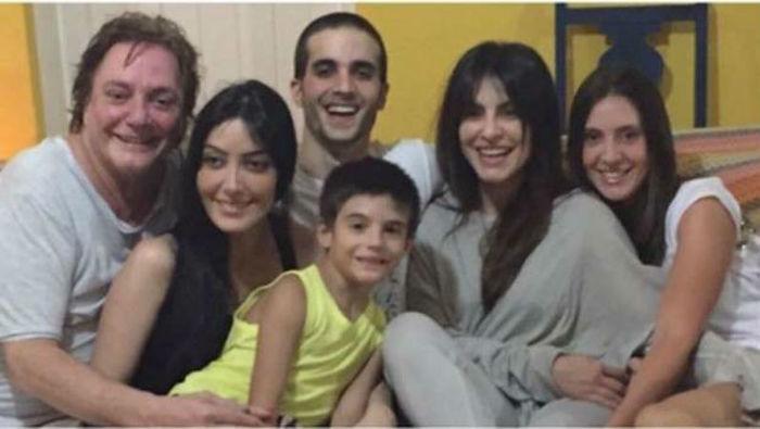 Fábio Jr em  momento feliz ao lados de seus filhos (Crédito: Reprodução/Instagram)