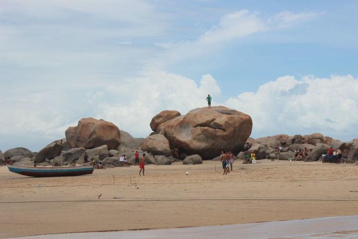 Pedra do Sal no litoral do Piauí (Crédito: Reprodução)