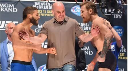Chad Mendes x Conor McGregor (11 de julho de 2015) (Crédito: REPRODUÇÃO / UFC)