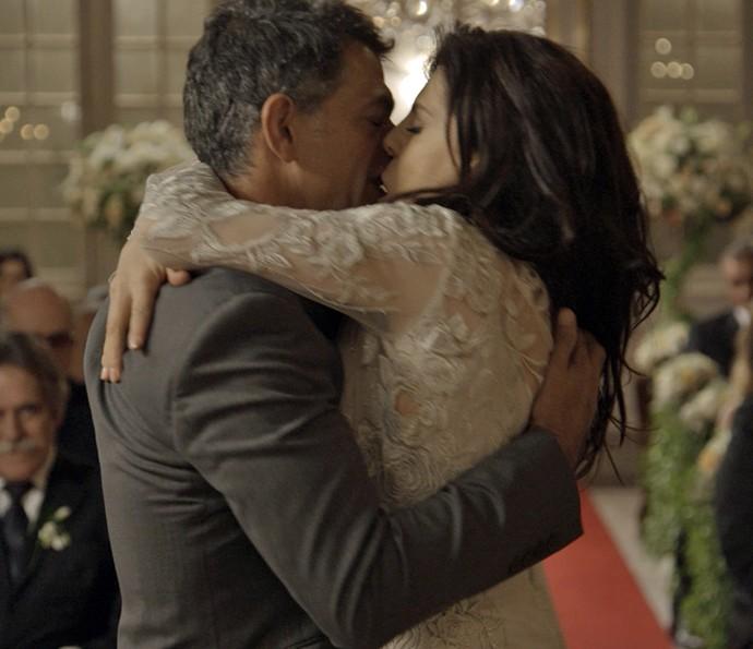 Orlando e Nelita se casam  (Crédito: Reprodução)