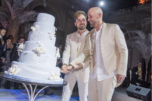 Paulo Gustavo mostra foto do casamento com Thales Bretas (Crédito: Reprodução/Instagram)