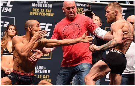 José Aldo x Conor McGregor (12 de dezembro de 2015) (Crédito: REPRODUÇÃO / UFC)