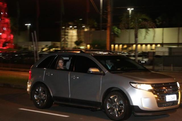 Dilma chega em Porto Alegre (Crédito: Reprodução)