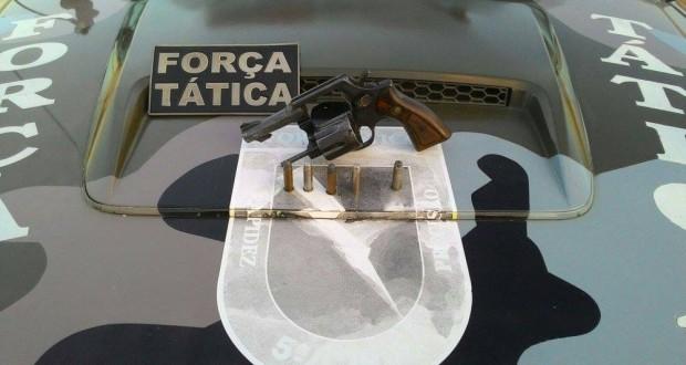 Revolver Calibre 38 (Crédito: Reprodução)