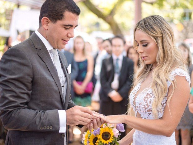 Leticia Santiago e Miguel Corrêa Júnior (Crédito: Divulgação)