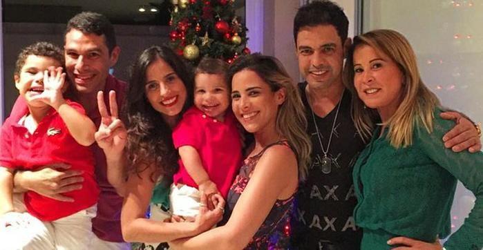 Família Camargo reunida no Natal (Crédito: Reprodução)