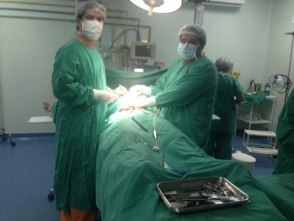 As cirurgias foram realizadas neste sábado (Crédito: Divulgação)
