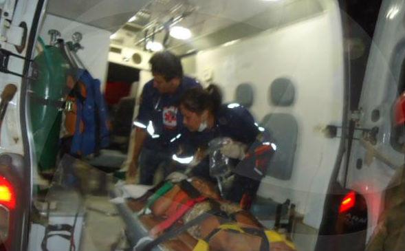 Resgate das vítimas (Crédito: Florianonews)