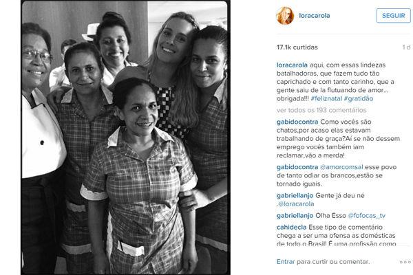 Post de Carolina Dieckmann (Crédito: Reprodução / Instagram)