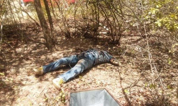 Corpo foi encontrado em matagal (Crédito: Reprodução)