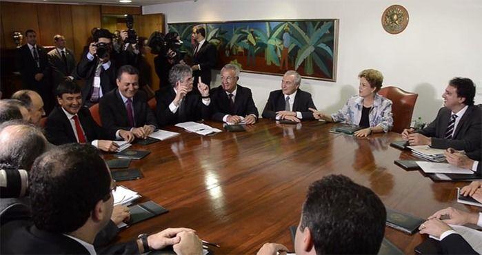 Encontro governadores em Brasília (Crédito: Arquivo )