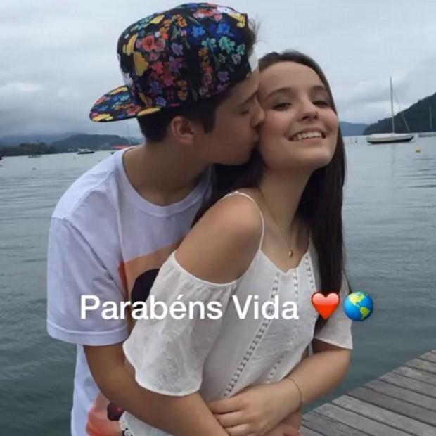 João Guilherme e Larissa Manoela (Crédito: Reprodução)