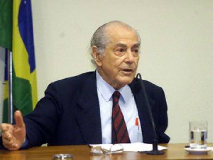 Leonel Brizola em 2002   (Crédito: Joedson Alves//Estadão Conteúdo)