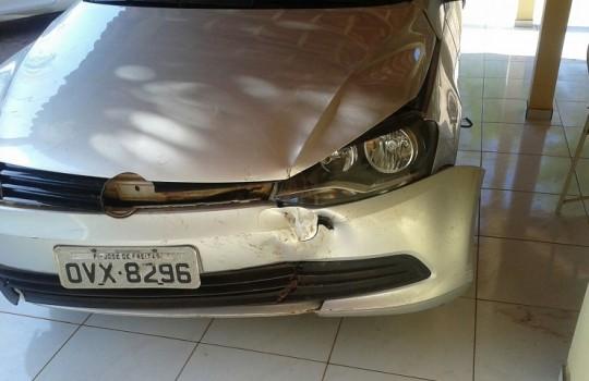 Automóvel do Vereador Roberval Santos (Crédito: Divulgação)