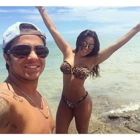 Thammy e sua namorada Andressa (Crédito: Reprodução/ Instagram)