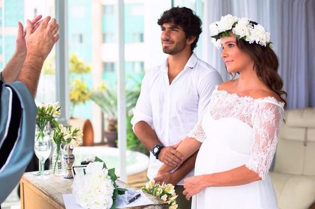 Casamento de Deborah Secco e Hugo Moura (Crédito: Reprodução/ Instagram)