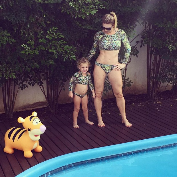 Sheila Mello e filha  (Crédito: Reprodução Instagram)