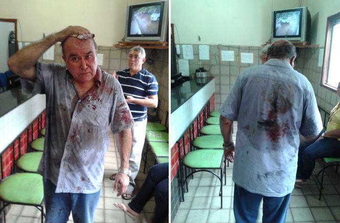 Alejandro foi vítima de um sequestro relâmpago em Timon, no Maranhão (Crédito: Reprodução)