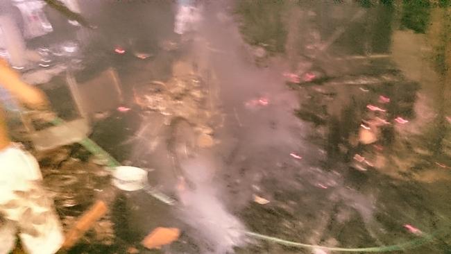 Residência pega fogo e dona da casa suspeita de ser provocado