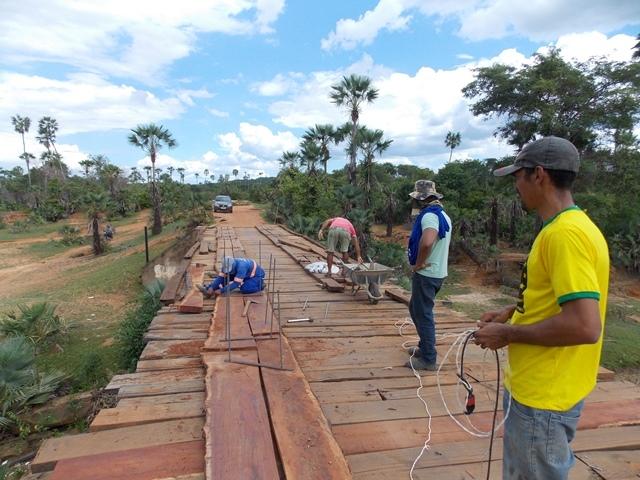 Prefeitura inicia recuperação de pontes sobre o Rio Piauí - Imagem 7
