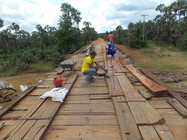 Prefeitura inicia recuperação de pontes sobre o Rio Piauí - Imagem 1