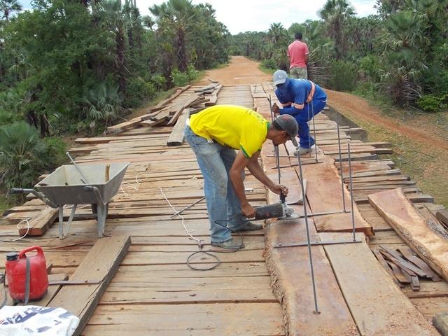 Prefeitura inicia recuperação de pontes sobre o Rio Piauí - Imagem 3
