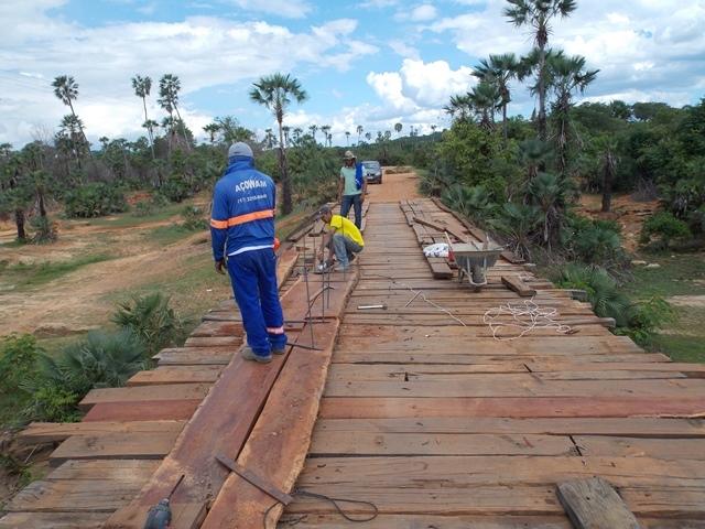 Prefeitura inicia recuperação de pontes sobre o Rio Piauí - Imagem 4