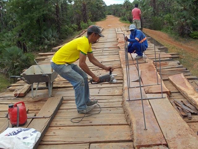 Prefeitura inicia recuperação de pontes sobre o Rio Piauí - Imagem 2