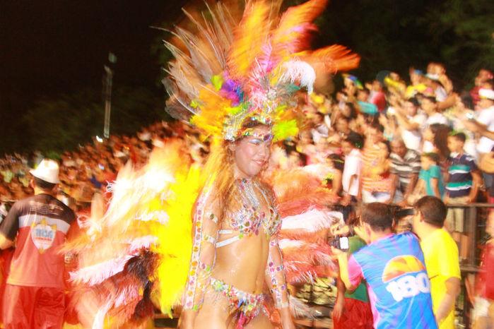 Desfile das seis  escolas de samba empolga público na Avenida Marechal Castelo Branco - Imagem 5