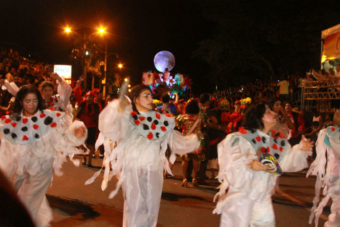 Desfile das seis  escolas de samba empolga público na Avenida Marechal Castelo Branco - Imagem 12