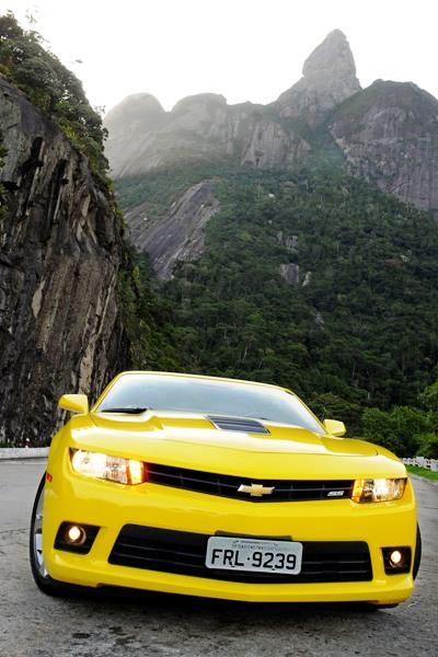 Chevrolet Camaro Sunrise: Versão conversível e esportiva com sofisticação e potência - Imagem 2