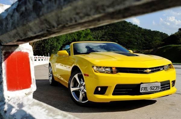 Chevrolet Camaro Sunrise: Versão conversível e esportiva com sofisticação e potência - Imagem 3