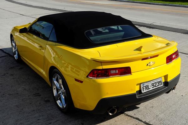Chevrolet Camaro Sunrise: Versão conversível e esportiva com sofisticação e potência