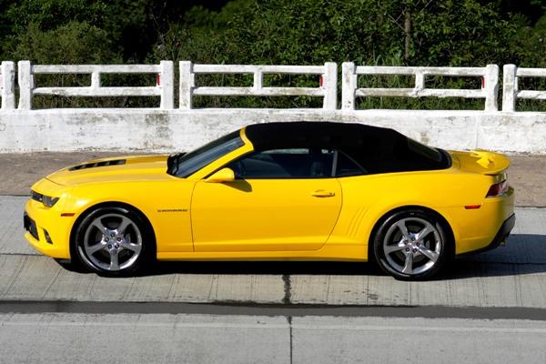 Chevrolet Camaro Sunrise: Versão conversível e esportiva com sofisticação e potência - Imagem 4
