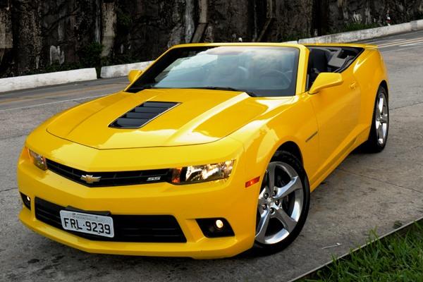 Chevrolet Camaro Sunrise: Versão conversível e esportiva com sofisticação e potência - Imagem 5