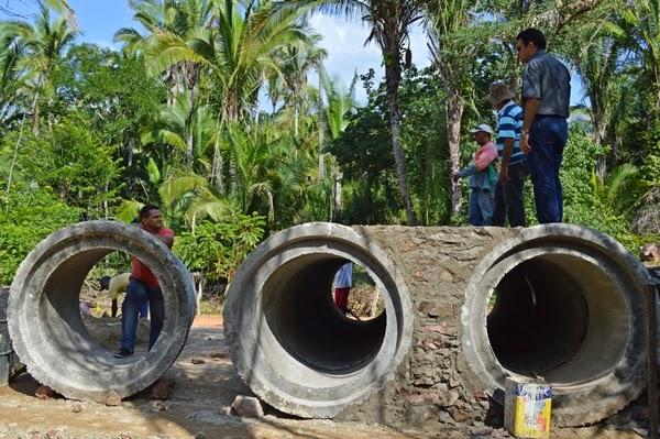 Prefeito Wallem Mousinho visita construção de ponte na Zona Rural de Guadalupe. - Imagem 4