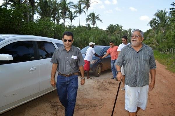 Prefeito Wallem Mousinho visita construção de ponte na Zona Rural de Guadalupe. - Imagem 2