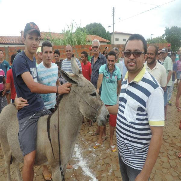 """Corrida de Jegue atraia população durante aniversário de Barra D""""Alcântara"""