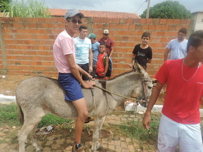 """Corrida de Jegue atraia população durante aniversário de Barra D""""Alcântara - Imagem 4"""
