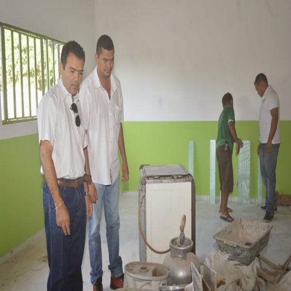 Reforma e ampliação da escola Hipólito José de Araripe, em Guadalupe chega a reta final.