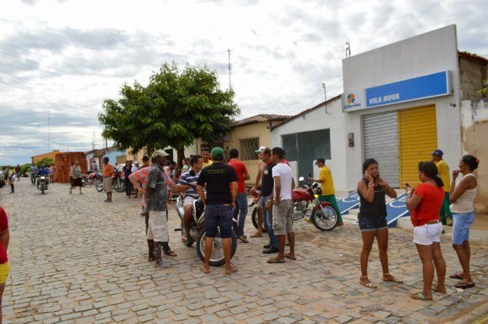 Dupla armada rouba comércio e tenta assaltar loteria em Vila Nova do Piauí - Imagem 1