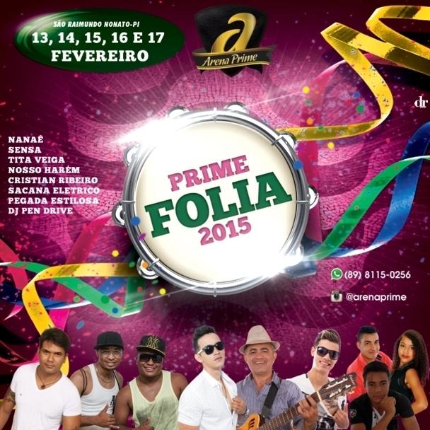 Sanraimundenses comemoram programação do Carnaval 2015 da Arena Prime