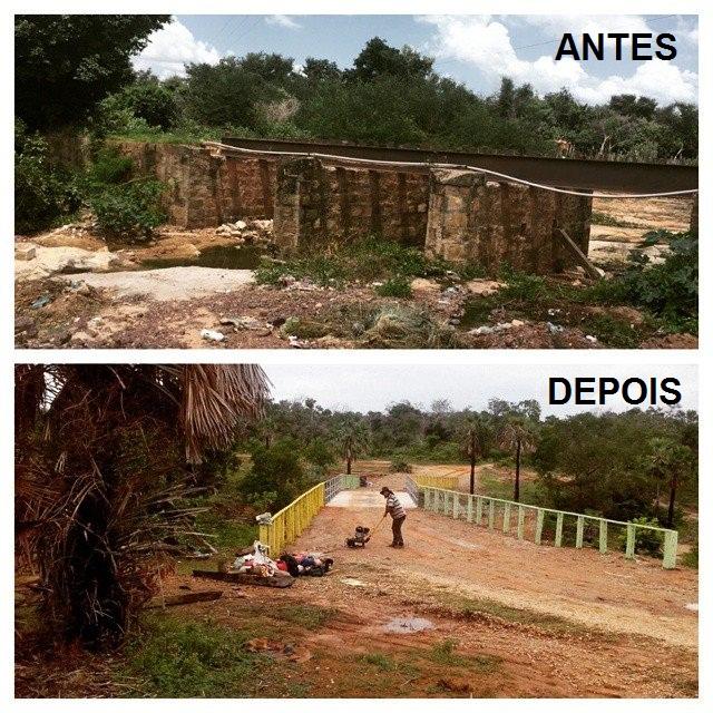 Prefeitura de Floriano: Inauguração da Ponte do Povoado Manga - Imagem 1
