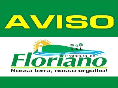 Prefeito de Floriano decreta ponto facultativo no dia 2 de abril