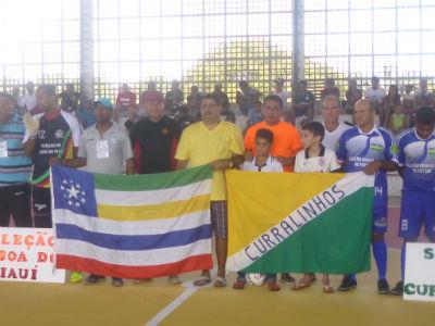 A sede II da XVI taça cidade de futsal, com sede em Lagoa do Piauí.Teve inicio neste domingo.