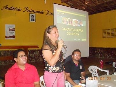 Prefeita Vilma Amorim participou de reunião regional do Programa Garantia Safra